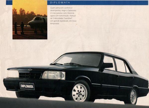 Opala Diplomata 1991 (propaganda da época)